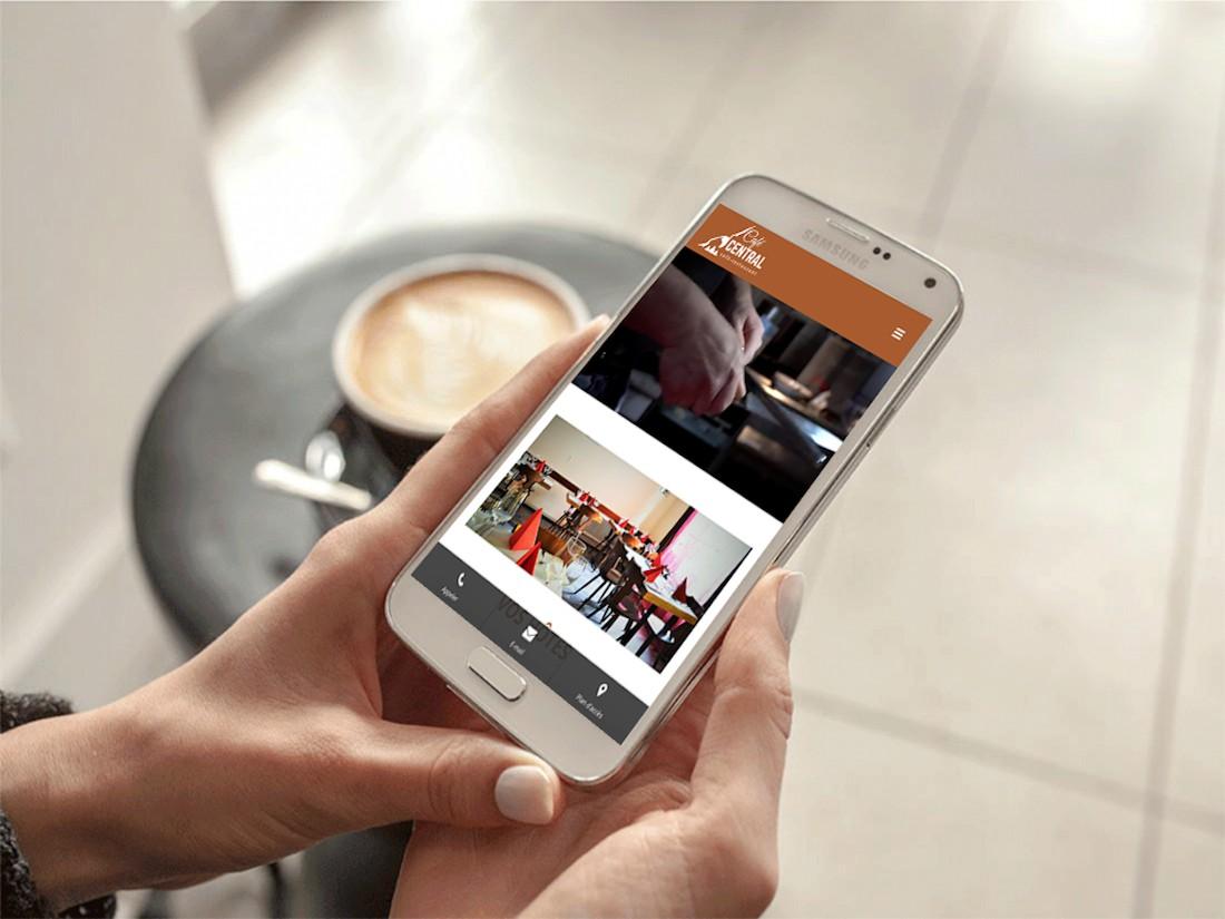 Café central mobile